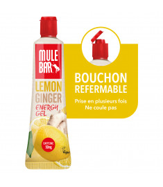 Gel Énergétique Citron avec bouchon refermable