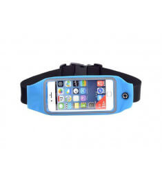 Blue Running Belt