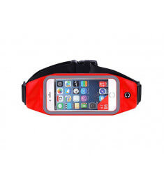 Red Running Belt