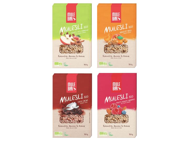 Pack 4 Boîtes Mulesli Multi-parfums