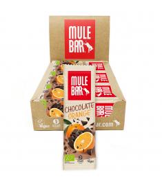 Boîte 15 Barres Énergétiques Chocolat Orange