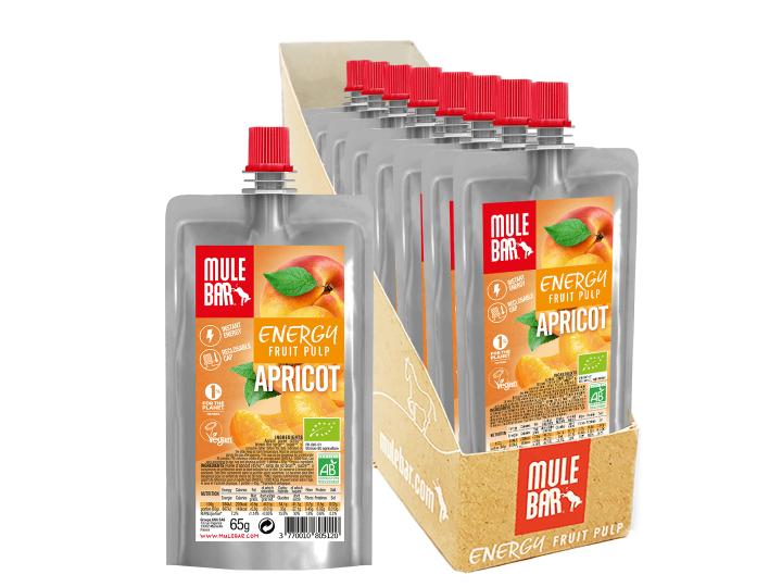 Boîte 10 Pulpes de Fruits Abricot