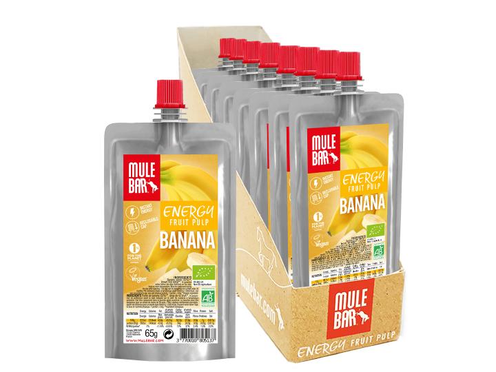 Mulebar organic and plant based Apricot puree