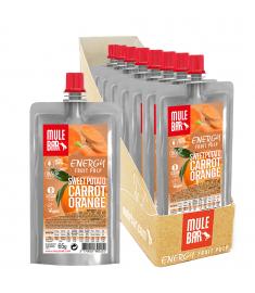 Boîte 10 Pulpes de Patate Douce Orange Carotte Mulebar