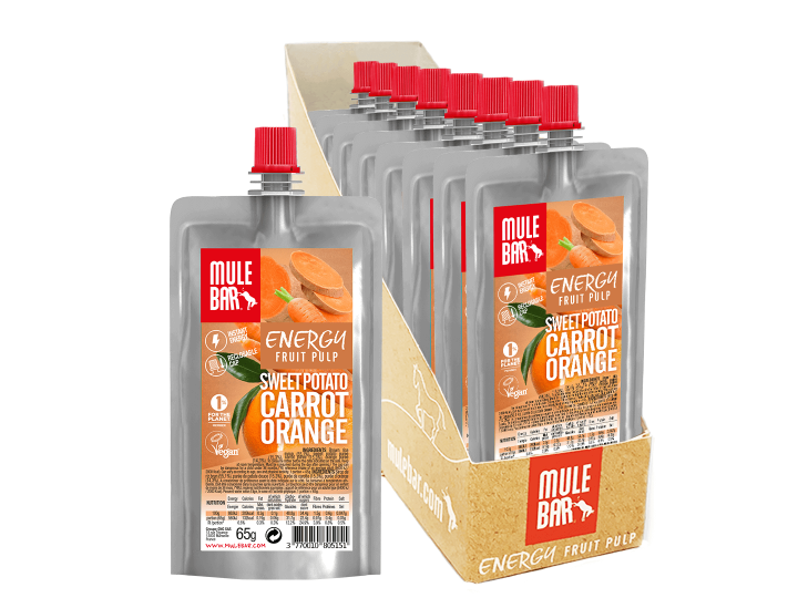 Mulebar Sweet Potato Orange and Carrot puree