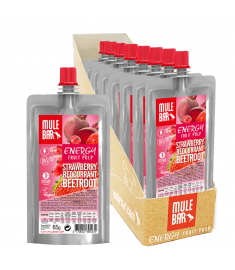 Boîte 10 Pulpes de Fruits Fraise Groseille Betterave