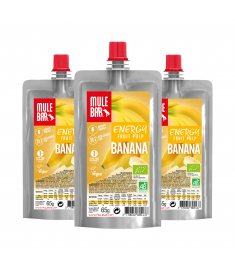 Lot de 3 pulpes de Banane Mulebar