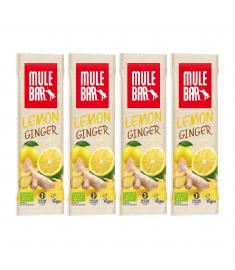 4 barres énergétiques Citron gingembre
