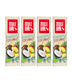 4 barres énergétiques Ananas Coco