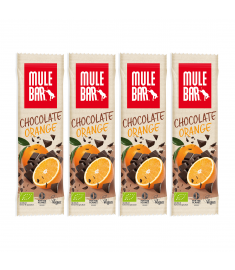 4 barres chocolat orange