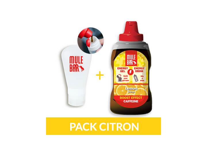 Recharge de gel citron + fiole 60 ml