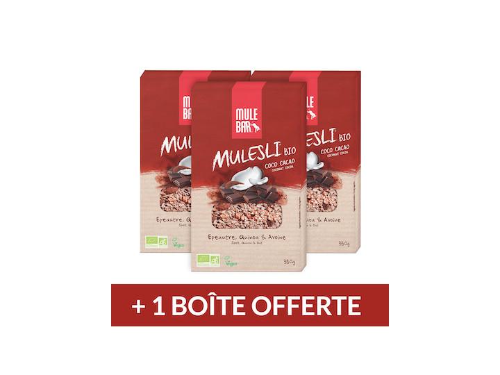 3 Muesli Cacao coco