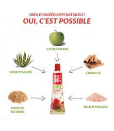 Ingrédients gel Mulebar pomme
