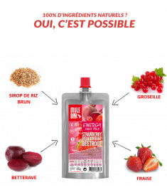 Strawberry Redcurrent and Beetroot Mulebar pulp ingredients