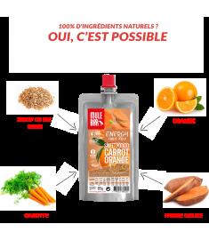 Mulebar sweet potato Orange and Carott pulp ingredients
