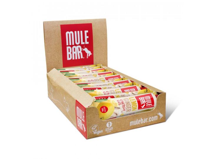 Nouvelle boite de 15 gels Mulebar Citron gingembre