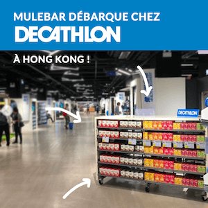 Mulebar sold at decathlon