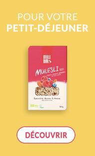 Des Mulesli pour votre petit-déjeuner